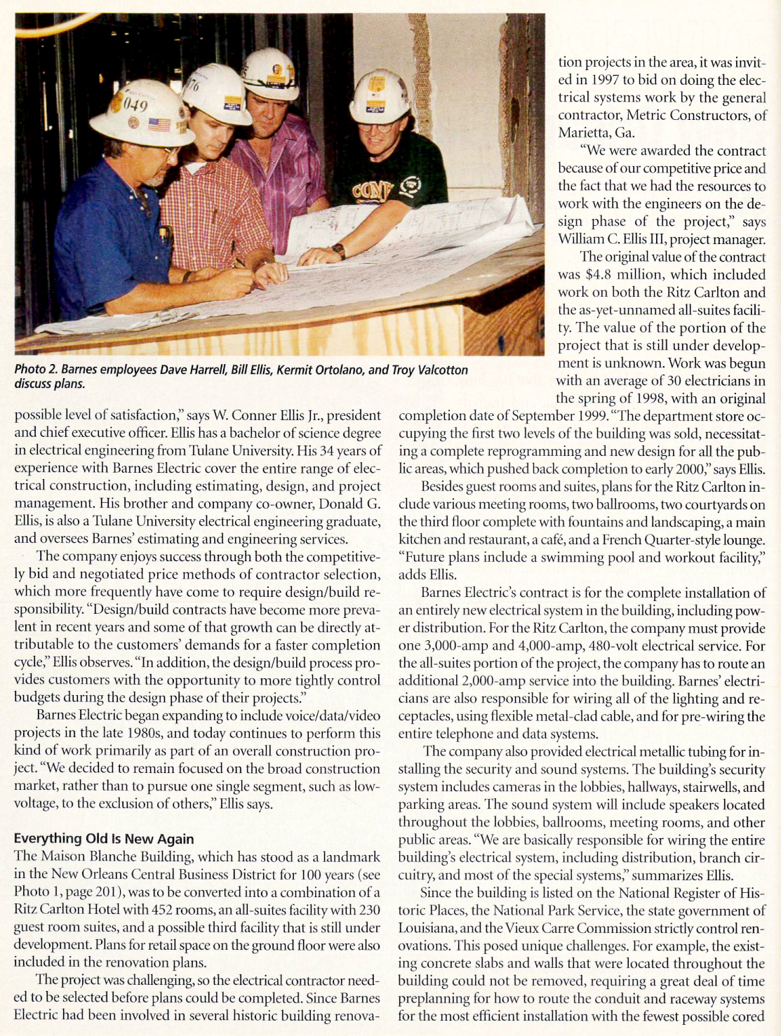 Electrical Contractor Magazine Article - Page 2