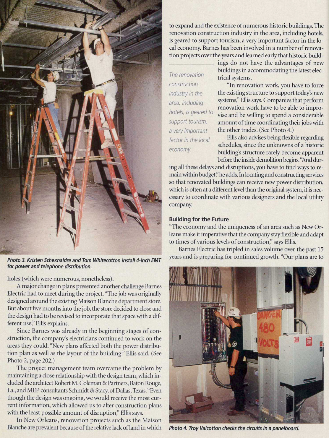 Electrical Contractor Magazine Article - Page 3
