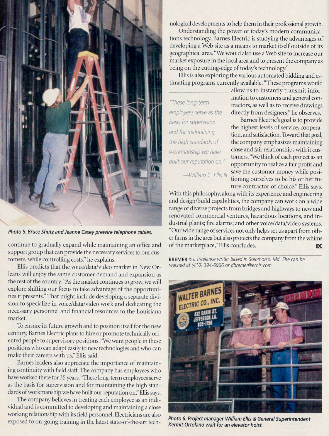Electrical Contractor Magazine Article - Page 4