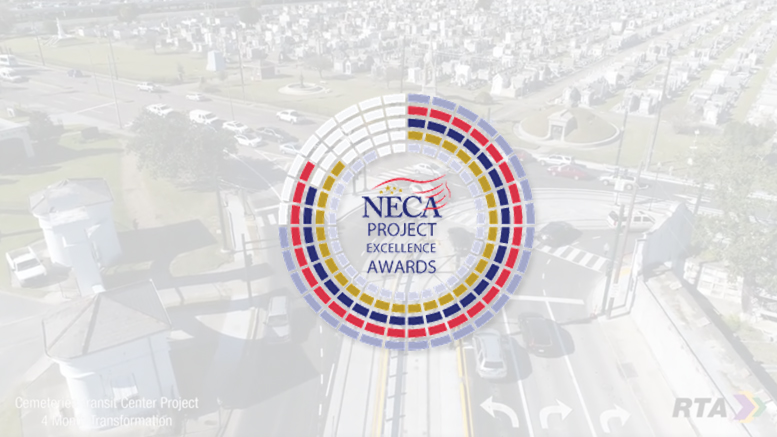 Barnes Electric 2018 NECA Winner - Streetlighting:Traffic Signals